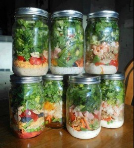 Salad Jar Idea
